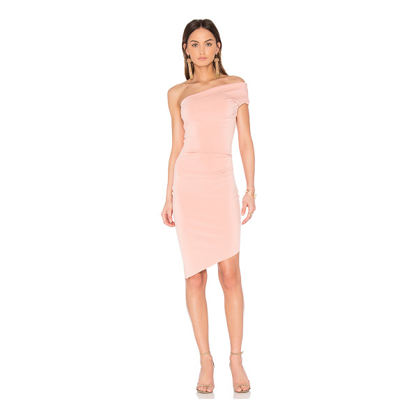 BEC & BRIDGE India Rosa Midi Dress - 95% poly 5% elastane. Hand wash cold. Unlined. Pleated side...