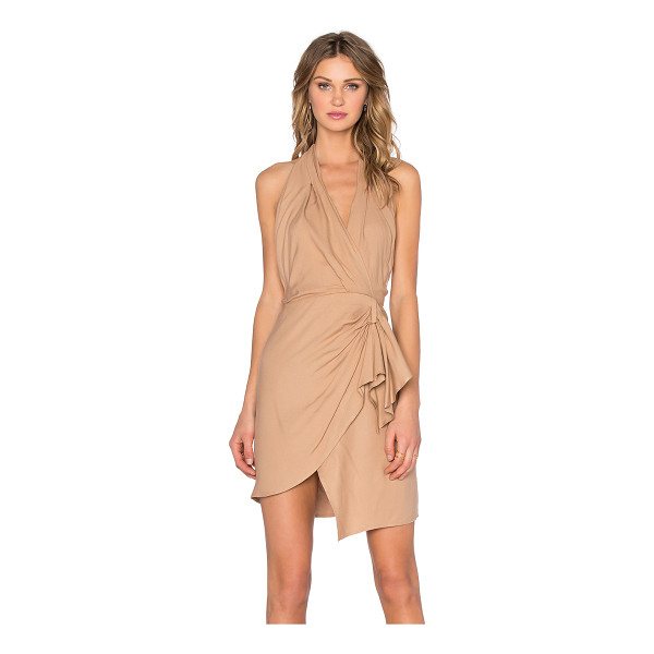 BEC & BRIDGE Jacques dress - 100% lyocell. Dry clean only. Unlined. Surplice halter neck...