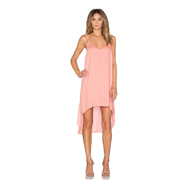 BELLA DAHL High low hem dress - 100% tencel. Partially lined. Asymmetrical hem. BLD-WD34....