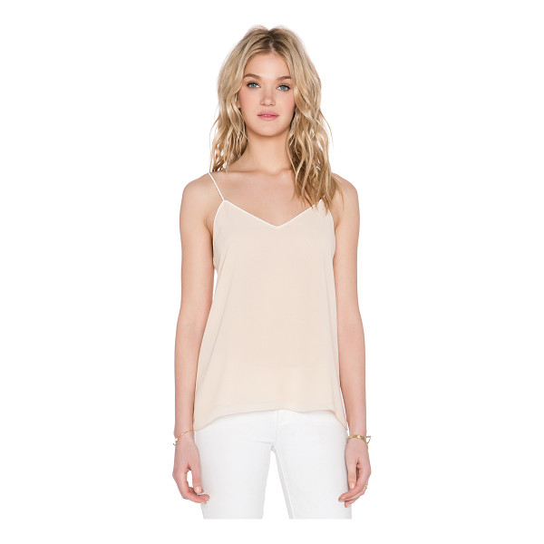 BLAQUE LABEL Contrast tank top - 100% poly. Dry clean only. BLAQ-WS57. BQT507TT. Since 2009,...