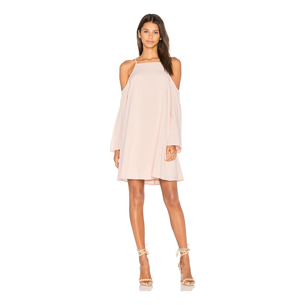 BLAQUE LABEL Exposed Shoulder Dress - Self: 100% cottonLining: 96% poly 4% spandex. Dry clean...
