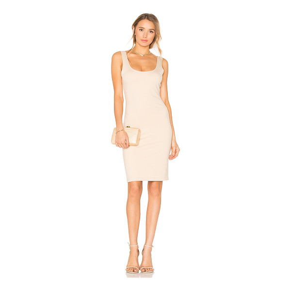 BLAQUE LABEL Scoop Neck Dress - Self: 61% rayon 39% nylonLining: 95% poly 5% spandex. Dry...