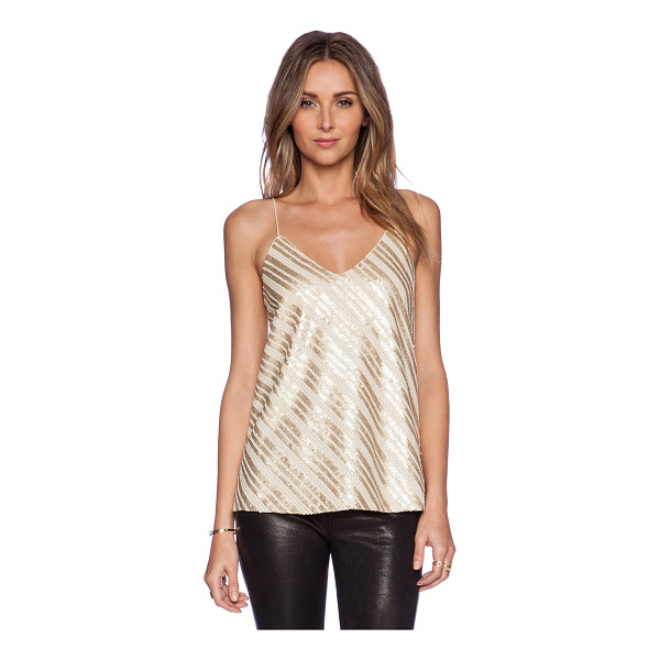 BLAQUE LABEL Sequin tank - Shell & Lining: 100% poly. Dry clean only. Sequin...