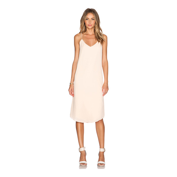 BLAQUE LABEL V-Neck Tank Dress - 100% cotton. Dry clean only. Fully lined. BLAQ-WD104....