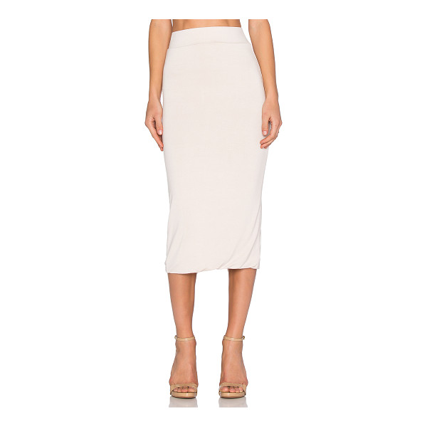 BLQ BASIQ x REVOLVE Exclusive Midi Skirt - 95% rayon 5% spandex. Hand wash cold. Unlined. Elasticized...