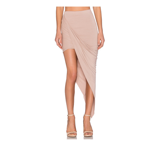 BLQ BASIQ x REVOLVE Exclusive Wrap Skirt - 95% rayon 5% spandex. Hand wash cold. Partially lined....