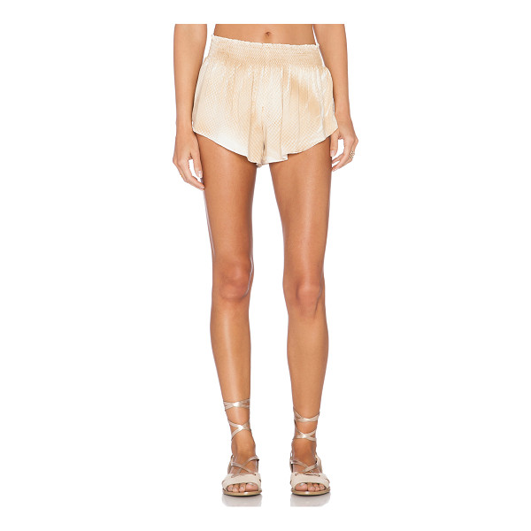 """BLUE LIFE Beach bunny short - 100% rayon. Dry clean only. Shorts measure approx 9"""""""" in..."""