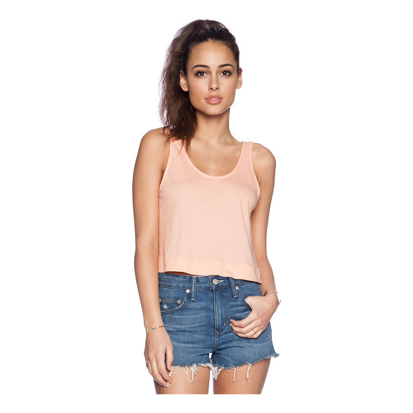 BOBI Light weight jersey crop swing tank - 100% cotton. BOBI-WS1611. 574 51165. Bobi is an LA based...