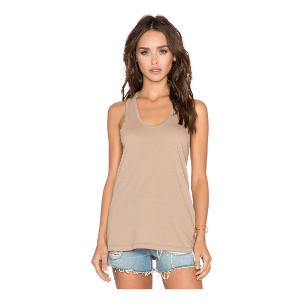 BOBI Light weight jersey tank - 100% cotton. BOBI-WS1669. 535 40097. Bobi is an LA based...