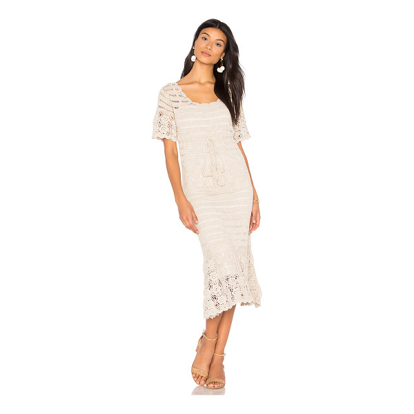 BOEMO Castello Dress - Self: 100% cottonLining: 100% poly. Hand wash cold. Fully...