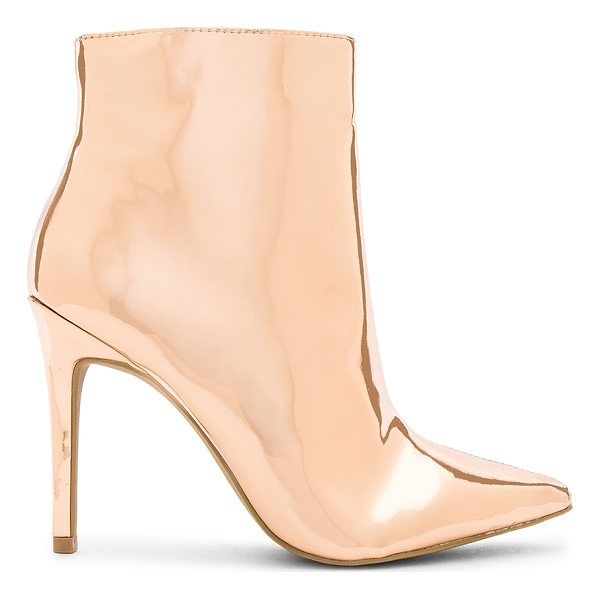 "BY THE WAY. Ashley Bootie - ""Metallic man made upper with man made sole. Side zip..."
