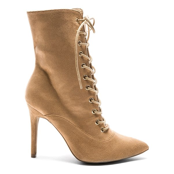 "BY THE WAY. Natalie Bootie - ""Textile upper with man made sole. Side zip closure...."