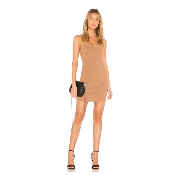 BY THE WAY. Solene Backless Mini Dress - 60% rayon 35% nylon 5% spandex. Hand wash cold. Unlined....