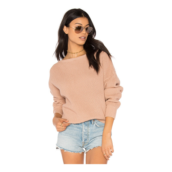 CALLAHAN Fisher Off the Shoulder Sweater - 100% cotton. Hand wash cold. Knit fabric. CAHN-WK29. 21717....