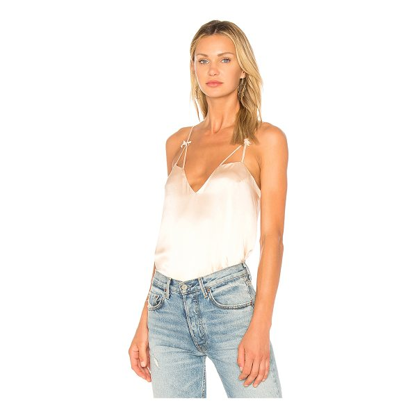CAMI NYC The Lucy Cami - Self: 100% silkLining: 100% poly. Dry clean only....