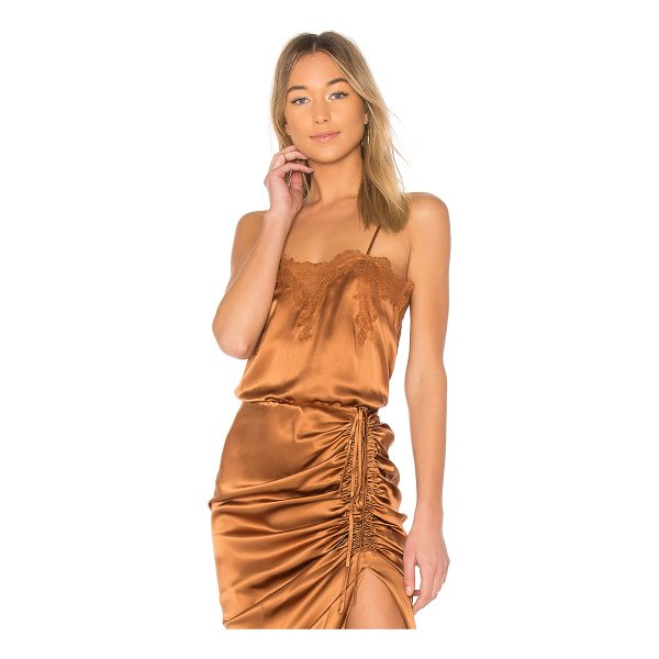 CAMI NYC The Sweetheart Cami - Self: 100% silkTrim: 100% nylon. Dry clean only. Adjustable...