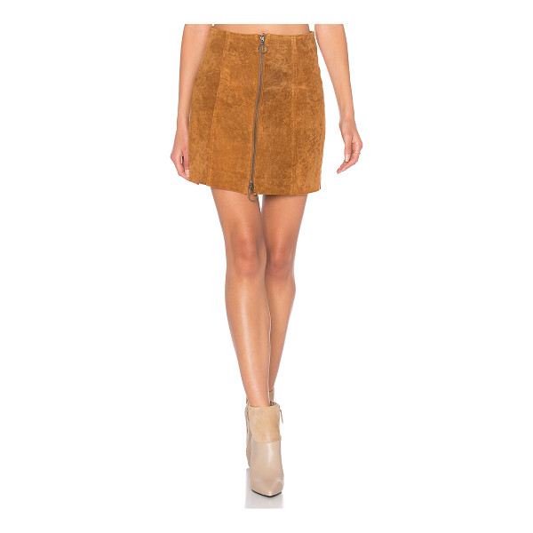 CAPULET A Line Zip Skirt - Self: 100% leatherLining: 100% poly. Professional leather...