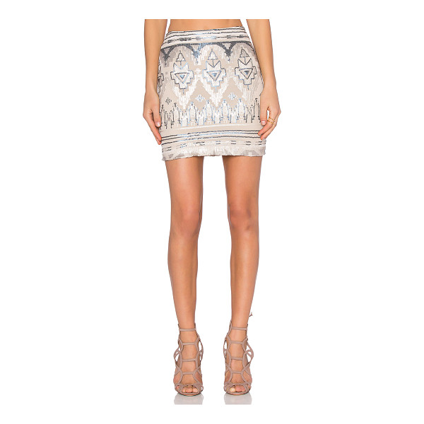CAPULET High waist mini skirt - Shell: 50% poly 50% spandexLining: 100% poly. Dry clean...