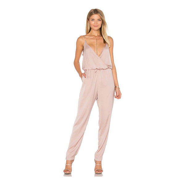 CAPULET James Jumpsuit - Self & Lining: 100% poly. Dry clean only. Elastic waist....