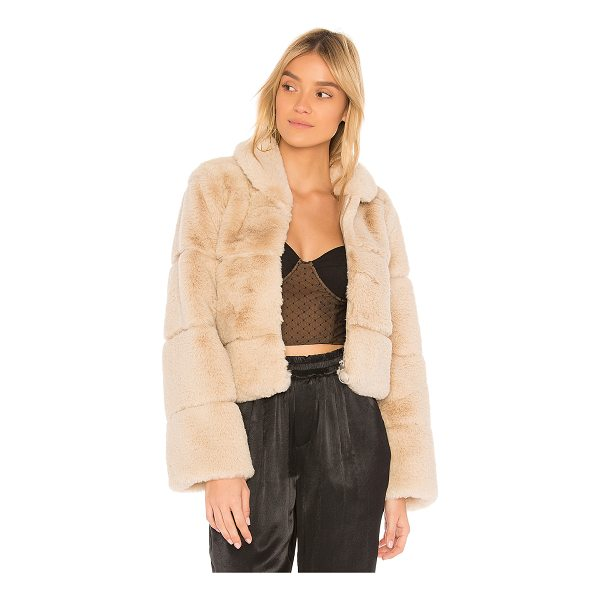 CAPULET Lina Faux Fur Puffer - Faux Fur: 100% acrylicLining: 100% poly. Dry clean only....