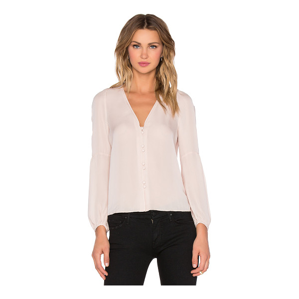 CARMELLA Tiesa blouse - 100% silk. Dry clean only. Front button closures. CARM-WS3....