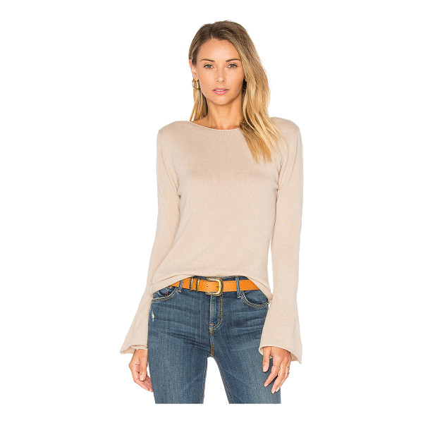 CENTRAL PARK WEST Vienna Cashmere Bell Sleeve Sweater - 100% cashmere. Dry clean only. CENT-WK373. C10557. Based in...