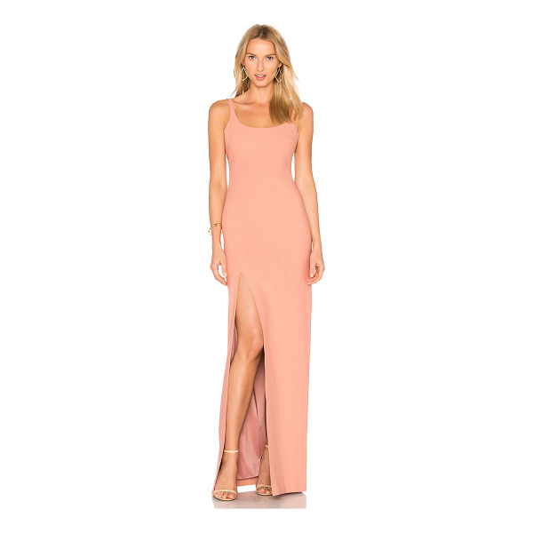 CINQ A SEPT Astrid Gown - Shell: 54% poly 39% viscose 7% elastaneLining: 100% poly....