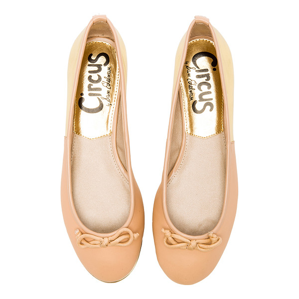 CIRCUS BY SAM EDELMAN Banks flat - Leather and man made upper with rubber sole. Bow accent....