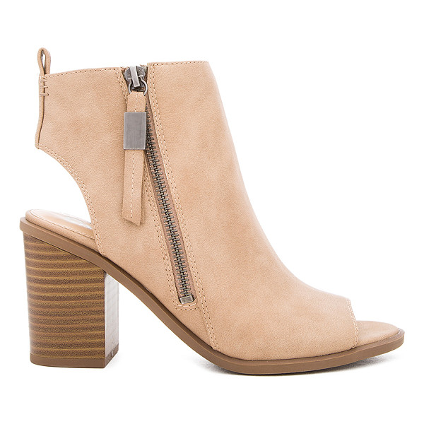 CIRCUS BY SAM EDELMAN Kammi Bootie - Faux leather upper with man made sole. Side zip closure....
