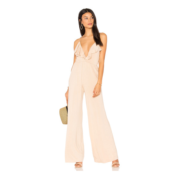 "CLAYTON Sonja Jumpsuit - ""95% viscose 5% spandex. Hand wash cold. Jersey knit..."