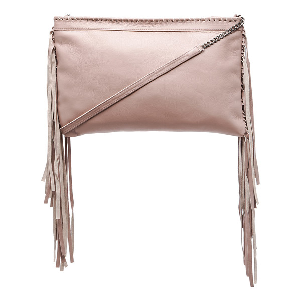 CLEOBELLA Joplin chain crossbody - Sheep leather exterior with cotton fabric lining. Measures...