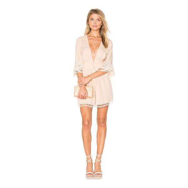"CLEOBELLA River Romper - ""100% rayon. Front button and hidden zipper closure...."