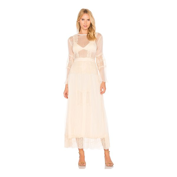 CLEOBELLA Vienna Maxi Dress - Viscose blend. Dry clean only. Partially lined. Sheer...