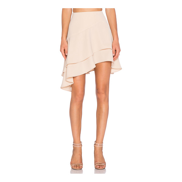 "C/MEO Easy love skirt - 100% poly. Hand wash cold. Skirt measures approx 22"""" in..."