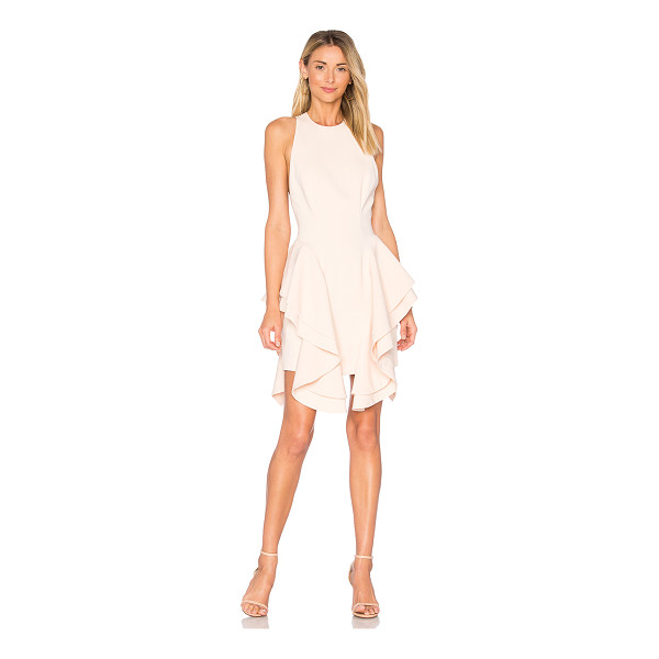 C/MEO Enlighten Mini Dress - Self & Lining: 100% poly. Hand wash cold. Fully lined. Side...