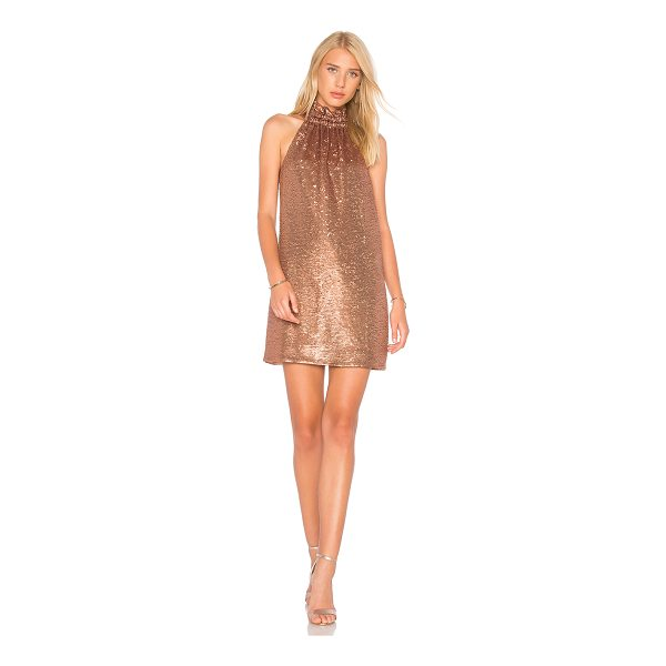 C/MEO Illuminated Mini Dress - Self & Lining: 100% poly. Hand wash cold. Fully lined....