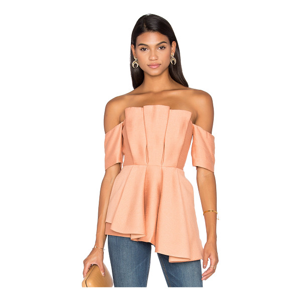 C/MEO Need Nobody Top - Self & Lining: 100% poly. Hand wash cold. Plastic bodice...