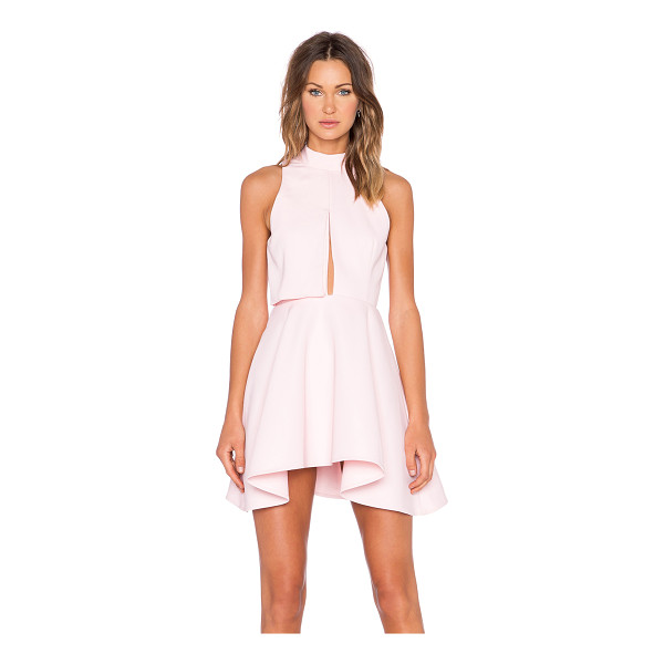 C/MEO New way dress - 100% poly. Hand wash cold. Partially lined. Back cut-out...
