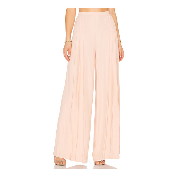 C/MEO The Frayne Pant - Poly blend. Hand wash cold. Pleated detail. Hidden back...