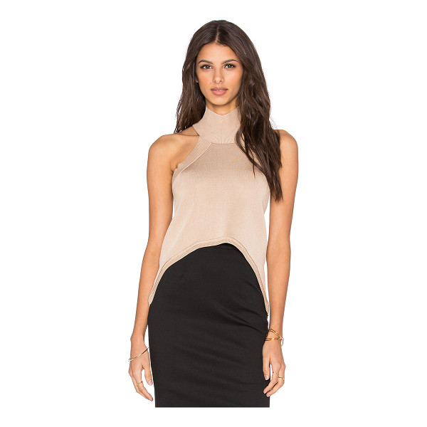 C/MEO The happening crop top - 80% rayon 20% poly. Hand wash cold. CAME-WS114. CT150945K....