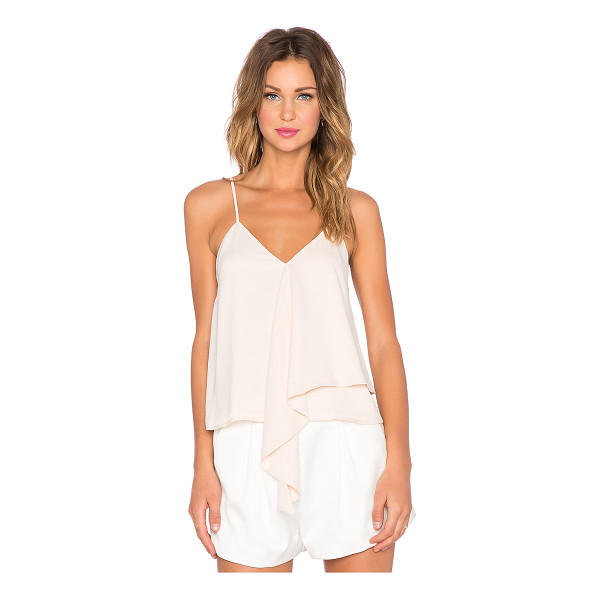 C/MEO The waves tank - Self & Lining: 100% poly. Hand wash cold. Adjustable...