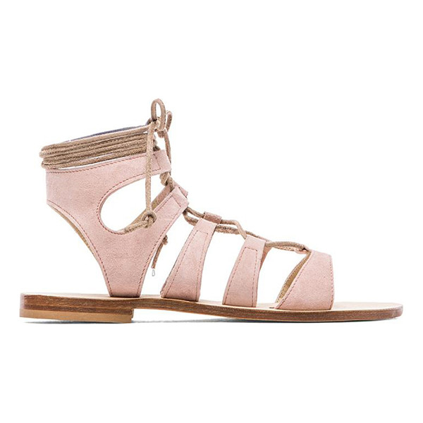 CORNETTI Recommone gladiator sandals - Suede upper with leather sole. Lace-up front. CORR-WZ1....