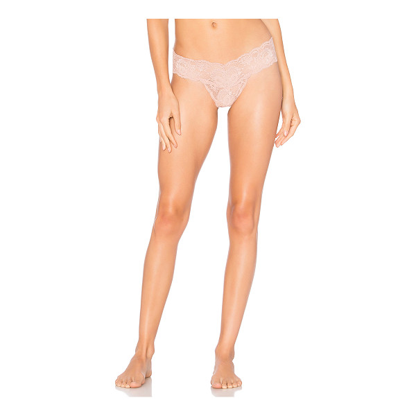 COSABELLA Never Say Never Cutie Lowrider Thong - 89% polyamide 9% elastane 2% cotton. Stretch fit. Lace...