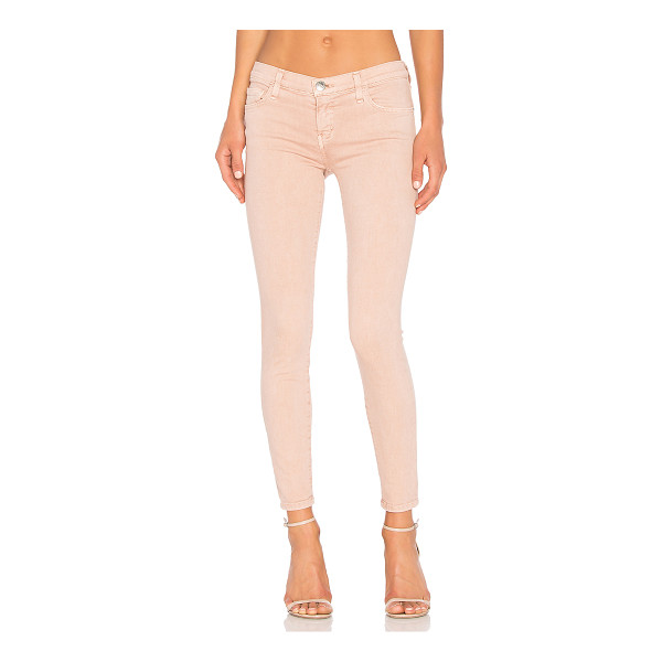CURRENT/ELLIOTT The Stiletto - 89% cotton 8% poly 3% elastane. 12 at the knee narrows to...