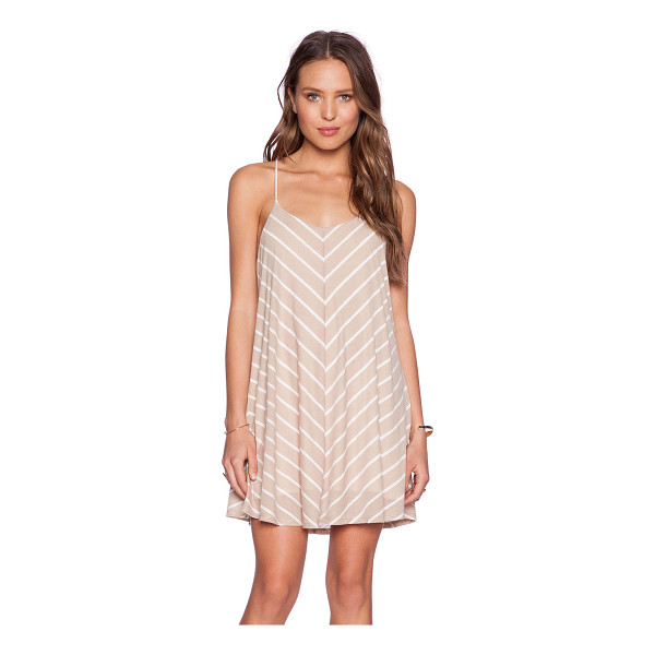 DE LACY Sybil stripe mini dress - 81% viscose 19% rayon. Racerback. DELC-WD21. SP1519. True...