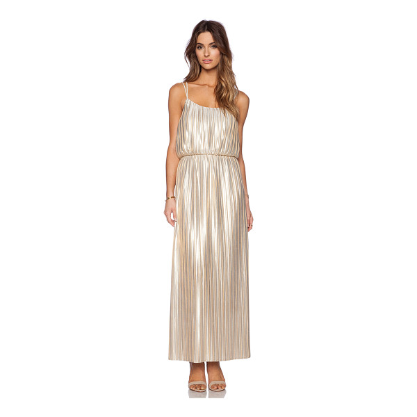 DEBY DEBO Emeraude maxi dress - Poly blend. Partially lined. Pleated fabric. DEBD-WD4....