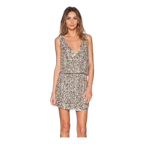 DEBY DEBO Horus dress - Poly blend. Dry clean only. Fully lined. Beaded and...