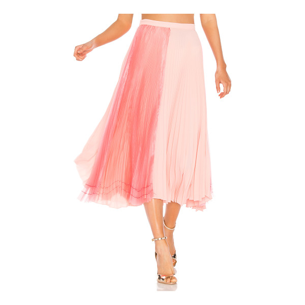 """DELFI COLLECTIVE Eliza Skirt - """"Poly blend. Dry clean only. Unlined. Two tone organza..."""
