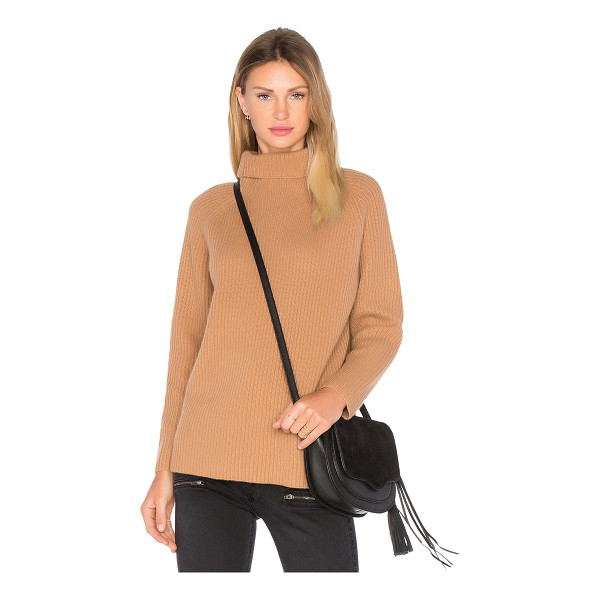 DEMYLEE Rita Turtleneck Sweater - Cotton blend. Dry clean only. Rib knit fabric. DEMY-WK142....