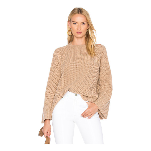 DEREK LAM 10 CROSBY Crossover Pullover - 70% wool 30% cashmere. Dry clean only. Knit fabric....